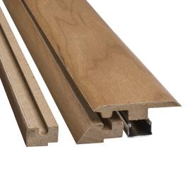 SimpleSolutions 2.37-in x 78.74-in Rustic Natural Maple 4-n-1 Floor Moulding
