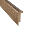 SimpleSolutions 2-3/8-in x 78-3/4-in Antique Hickory Stair Nose Moulding