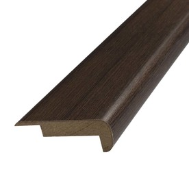 SimpleSolutions 2.37-in x 78.74-in Chestnut Hickory Stair Nose Floor Moulding