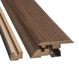 SimpleSolutions 2.37-in x 78.74-in 4-n-1 Floor Moulding