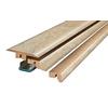 SimpleSolutions 2.37-in x 78.74-in Light Stone 4-n-1 Floor Moulding