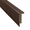 Pergo 2-3/8-in x 78-3/4-in Nutmeg Hickory Stair Nose Moulding