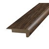 SimpleSolutions 2-3/8-in x 78-3/4-in Hickory Stair Nose Moulding
