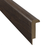 SimpleSolutions 2-3/8-in x 78-3/4-in Curly Walnut Stair Nose Moulding