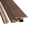 Pergo 2-3/8-in x 78-3/4-in Nutmeg Hickory 4-N-1 Moulding