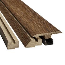 SimpleSolutions 2.37-in x 78.74-in Hickory Hickory 4-n-1 Floor Moulding