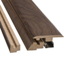 SimpleSolutions 2-3/8-in x 78-3/4-in Curly Walnut 4-N-1 Moulding