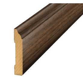 SimpleSolutions 3.3-in x 94.48-in Chestnut Hickory Base Floor Moulding