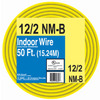 50-ft 12-2 Non-Metallic Wire (By-The-Roll)