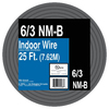 Encore Wire 25-ft 6-3 Non-Metallic Wire (By-The-Roll)