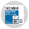 25-ft 14-3 Non-Metallic Wire (By-the-Roll)