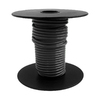 Encore Wire 25-ft 12-AWG Stranded Black Copper THHN Wire (By-The-Roll)