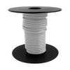 Encore Wire 25-ft 12-AWG Stranded White Copper THHN Wire (By-The-Roll)