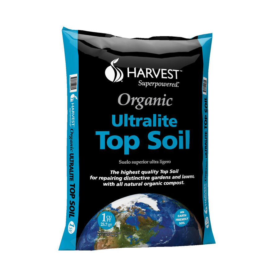 Shop garden pro 1 cu ft organic top soil at for Organic top soil
