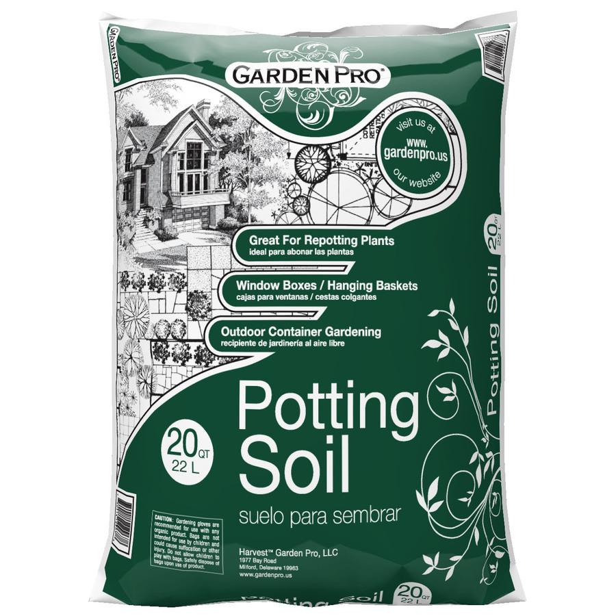 Shop garden pro 20 quart potting soil at for Potting soil clearance