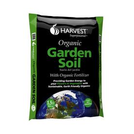 HARVEST 1.5-cu ft Organic Flower and Vegetable Garden Soil
