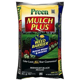 Preen 2 cu ft Midnight Black Hardwood Mulch