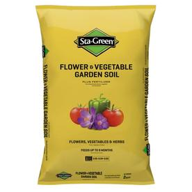 Sta-Green 2 cu ft Flower and Vegetable Garden Soil