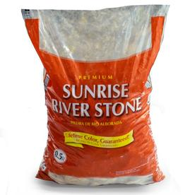 GARDEN PRO 0.5 cu ft Sunrise River Stone