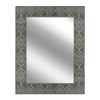 Style Selections Polished Rectangle Frameless Wall Mirror
