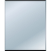 Style Selections 48-in x 36-in Beveled Edge Mirror