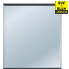 Style Selections 30-in x 24-in Beveled Edge Mirror