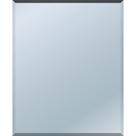Style Selections 24-in x 20-in Beveled Edge Mirror