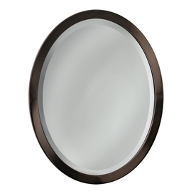 Shop Allen Roth 23 In W X 29 In H Oil Rubbed Bronze Oval