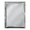 allen + roth 24-in W x 30-in H Chrome Rectangular Bathroom Mirror