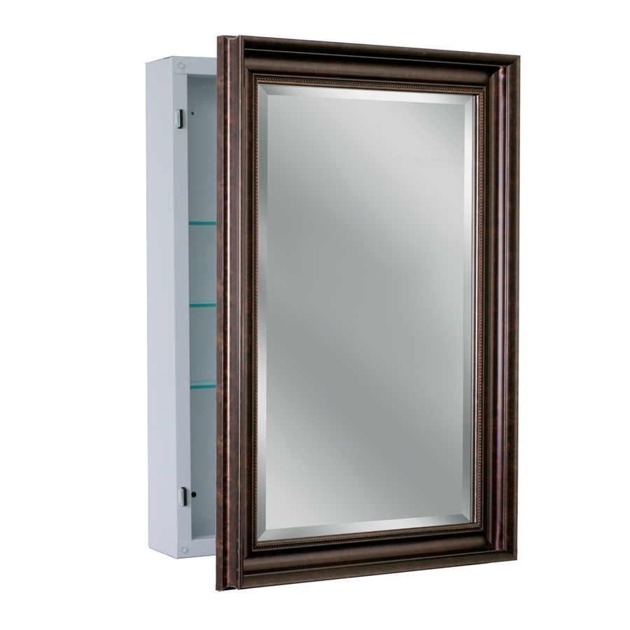 shop allen roth 22 25 in x 30 25 in copper metal surface