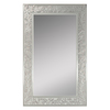Style Selections 20-in x 32-in Frosted Etching Polished Rectangle Frameless French Wall Mirror