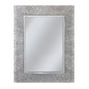 Style Selections 22-in x 28-in Etched Engraved Polished Rectangle Frameless French Wall Mirror