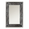 Style Selections 25.5-in x 37.25-in Silver Rectangle Framed Wall Mirror