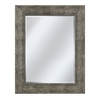 Style Selections 26-in x 36-in Pewter Rectangular Framed Mirror