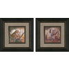  12-in W x 12-in H Animals Framed Wall Art