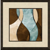 16-in W x 16-in H Abstract Framed Wall Art