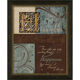 16.5-in W x 13.5-in H Inspirational Framed Art