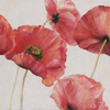 32-in W x 32-in H Floral Hand-Painted Art