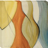 32-in W x 32-in H Abstract Hand-Painted Wall Art