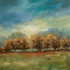 32-in W x 32-in H Landscapes Hand-Painted Wall Art