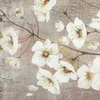 32-in W x 32-in H Floral Hand-Painted Wall Art