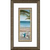 28.5-in W x 16.5-in H Coastal Framed Wall Art