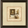12-in W x 12-in H Bath Framed Art
