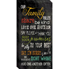 12-in W x 24-in H Inspirational Canvas