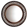 Oil-Rubbed Bronze Round Framed Wall Mirror