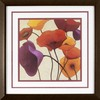 19-in W x 19-in H Floral Framed Art