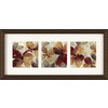 26-in W x 12-in H Floral Framed Art