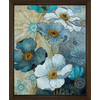 18-in W x 22-in H Floral Framed Art