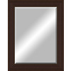 48-in x 38-in Oil Rubbed Bronze Beveled Frame Wall Mirror
