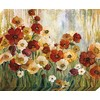 37-in W x 30-in H Floral Canvas